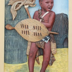 30-zulu-boy-30cm-x-45cm-x-3-5cm-relief-sculpture-jelutong-wood-artists-oils-michael-swanepoel-768x1175
