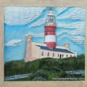 17-lagulhas-lighthouse-25cm-x-23cm-x-3-5cm-relief-sculpture-jelutong-wood-artists-oils-michael-swanepoel-800x730