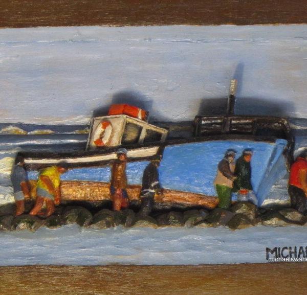 21-stella-run-aground-23cm-x-17cm-x-3cm-relief-sculpture-jelutong-wood-artists-oils-michael-swanepoel-800x577
