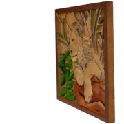24-young-lion-39cm-x-41cm-x-3-5cm-relief-sculpture-jelutong-wood-artists-oils-michael-swanepoel-side-view-right-650x770