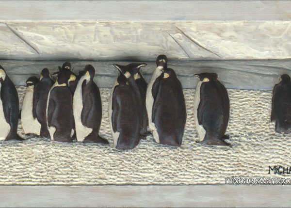37-king-penguin-33cm-x-17cm-x-3-5cm-relief-sculpture-jelutong-wood-artists-oils-michael-swanepoel-800x429